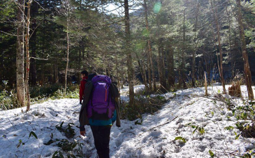 2日目登山前半