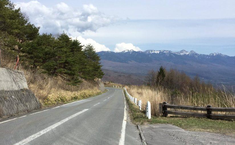 3日目霧ヶ峰登山チャリ